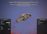 Vanguard's [Sneak] Scout Left Leg #12